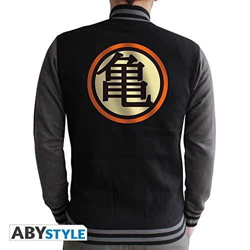 Dragon Ball Z Sweatshirt schwarz Black/Dark Grey Herren Gr. XXL