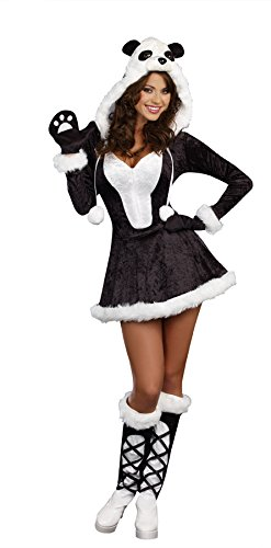 Women's Panda Bear Baby Fancy dress costume Medium