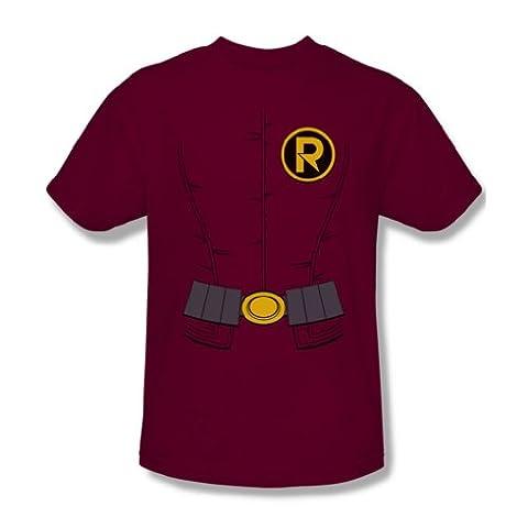 Costume Robin Rouge - Batman - - Les hommes de la