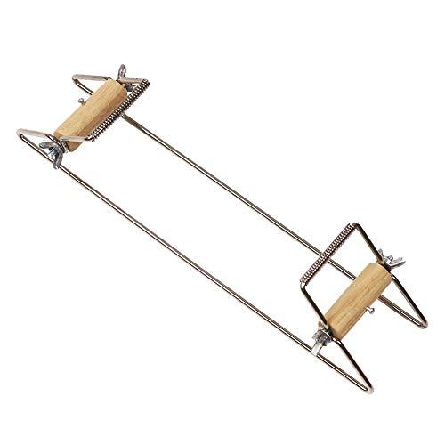 seasaleshop Perlenwebrahmen für Perlen Webrahmen für Kinder Webstuhl Spielzeug Strickstuhl Holz Weben Beading Webstuhl Set für Schmuck Armbänder Halsketten Ohrringe Machen