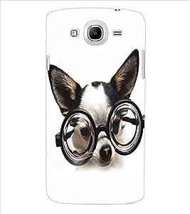 ColourCraft Funny Dog Back Case Cover for SAMSUNG GALAXY MEGA 5.8 I9150 / I9152
