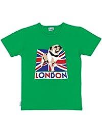 Paw Prints Organic Cotton Adults British Bulldog T-Shirt | 4 Sizes | 3 Colours | by