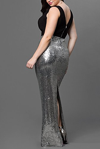 Bridal_Mall - Robe de mariage - Mermaid - Femme Argent