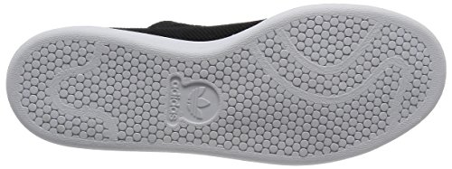 Scarpe Da Tennis Adidas Mens Stan Smith Nere (cblack / Cblack / Ftwwht)