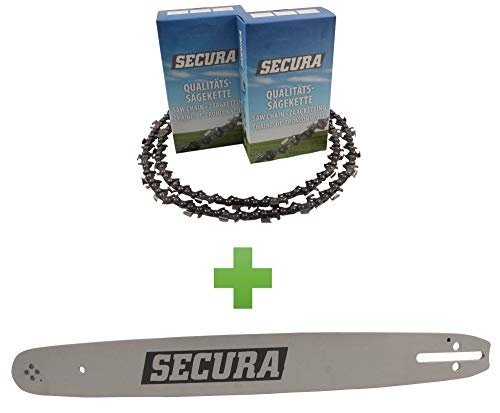 2 Sägeketten + 1 Schwert passend Timberpro CS5800 40cm (0325-1,5-66)