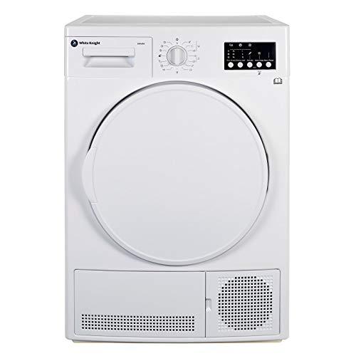 White Knight B93V7W 7kg Sensor Condenser Tumble Dryer - White
