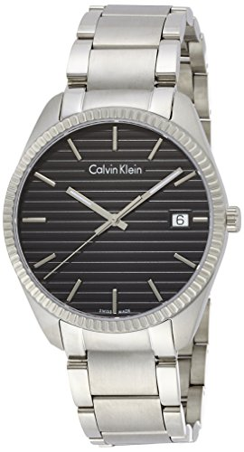 Calvin Klein Men Analogue Watch with Black Dial Analogue