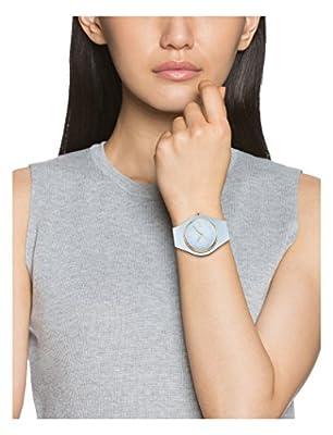 Ice-Watch - Ice Glam Pastel Lotus - Reloj Azul para Mujer con Correa de Silicone
