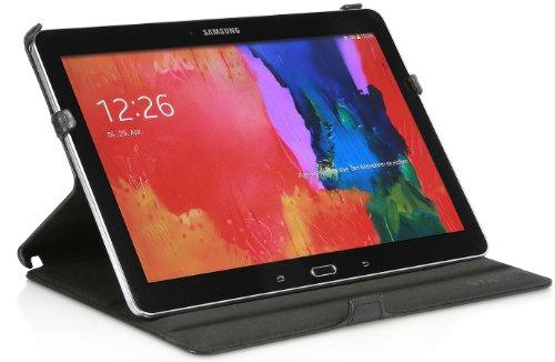 StilGut UltraSlim Case, Tasche mit Stand- und Präsentationsfunktion für Samsung Galaxy TabPRO 10.1, schwarz