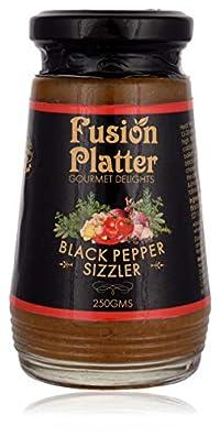 Fusion Platter Black Pepper Sizzler, 250 Grams