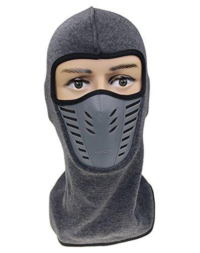 Fleece-schwergewicht Hat (ZZLAY Balaclava Gesichtsmaske, winddichter Skihut für Skifahren & Snowboarden & Radfahren Cap Unisex)