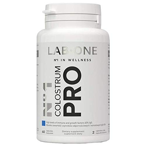Lab One N°1 Colostrum Pro - 40 Prozent IgG 400 mg - 60 Capsules