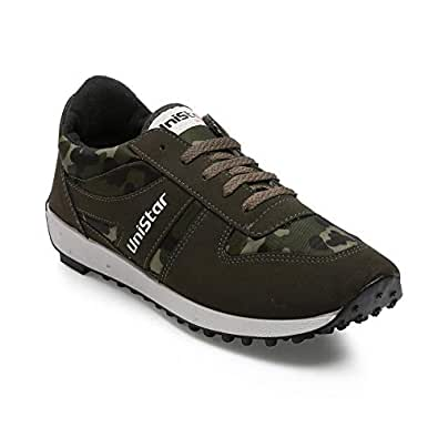 Unistar Men's Multi-Colour Running Shoes-10 UK/India (44 EU) (E-602)