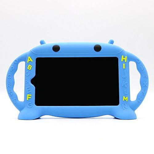 CHIN FAI Samsung Galaxy Tab 3/4/A/E Lite 7-Zoll-Tablet-Hülle für Kinder, Cartoon Roboter Shock Proof Silikon-Schutzhülle Cabrio-Griff-Ständer Kinderfreundlich Case für Samsung Modell P3200/T113