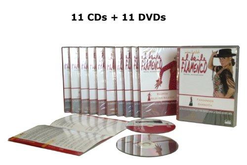 El Baile Flamenco (Nivel Avanzado), Vol. 11-12-13-14-15-16-17-18-19-20-21 DVDs + CDs Rosa Toque