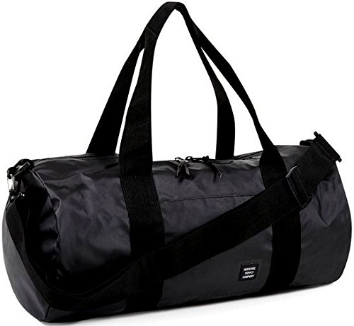 borsone-herschel-supply-co-sutton-mid-duffel-in-nylon-nero