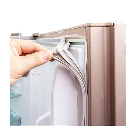 MOUNTIAN Kühlschrank Dichtungen Universal Custom für Tür Alle Größen Kühlschrank Ersatzteile für Bosch Kühlschrank Weiß