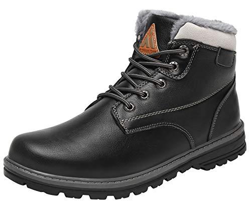 Mishansha Zapatos de Invierno Hombre Mujer Impermeables Botas de Nieve Cálido Botines Antideslizante...
