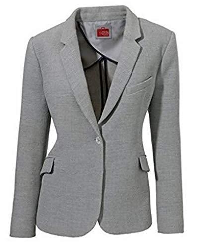 Blazer Einknopfblazer von Travel Couture in Grau - Gr. 40 - Couture Blazer