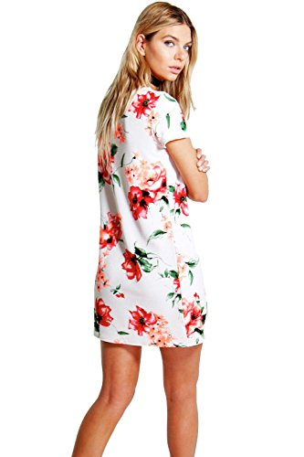 Multi Allie Floral Shift Dress Multi