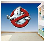 Solo Signs UK, Ghostbusters-Logo-Aufkleber, Vinyl, bedruckt, SS40009, Vinyl, Extra Large 430mm x 495mm