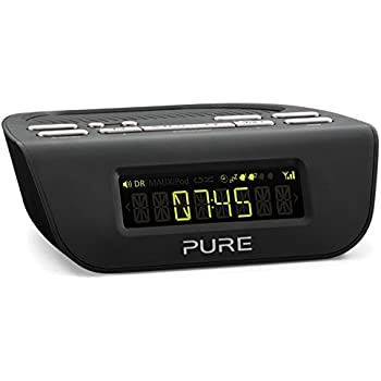 roberts radio ortus1w dab dab fm alarm clock radio with anytime snooze white tv. Black Bedroom Furniture Sets. Home Design Ideas