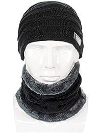 YXDDG Slouchy cálido Invierno Sombrero Gorro de Punto para Invierno Gran  tamaño Grueso Slouchy Anchos se Puede… EUR 25 5c0eb0e33c0