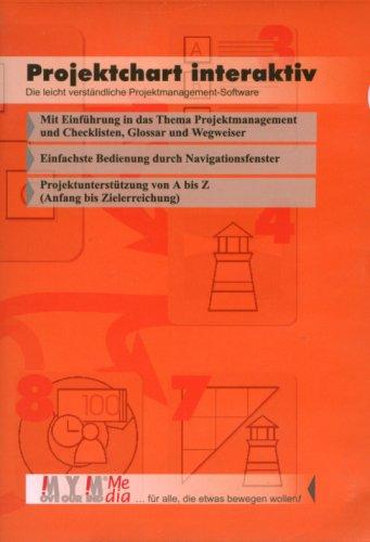 Projektchart interaktiv, Einzelplatzversion, 1 CD-ROM Die leicht verständliche Projektmanagement-Software. Mit Einführung in das Thema Projektmanagement. Für Windows... Mit Checklisten, Wegweiser, Glossar