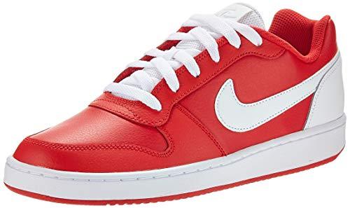 Nike Herren Ebernon Low Basketballschuhe, Rot (University Red/White 000), 43 EU