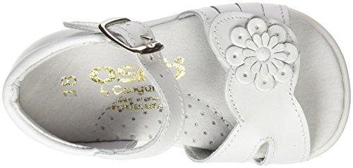 Conguitos  HVS10937, Chaussures souples pour bébé (fille) Blanc