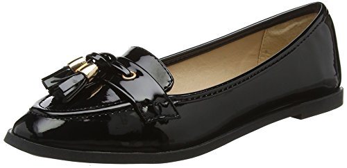 Dorothy Perkins Damen Larissa Slipper Black (Black 130)