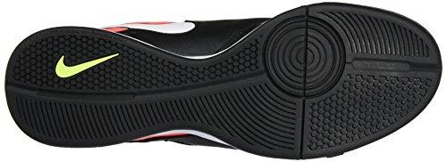 Nike 819222-018, Chaussures de Football en Salle Homme Noir (Black/white-hyper Orange-volt)
