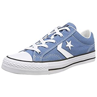 Converse Unisex Adults' Star Player OX Aegean Storm/White/Black Trainers, Blue 442, 6 UK