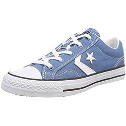 Converse Star Player OX Aegean Storm/White/Black, Zapatillas Unisex Adulto, Azul 442, 51.5 EU