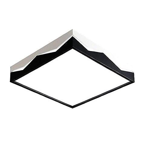 Modernes Design Eisen LED Deckenbeleuchtung Romantisch Kreativ Deckenleuchte Innenleuchte LED Deckenleuchten Künstlerisches Design Platz Deckenspot 24W