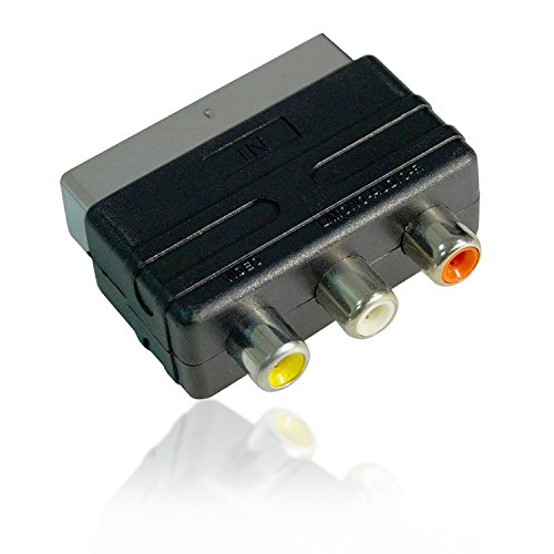 Act AV Scart 20 pin Stecker auf 3 RCA Buchse/Stecker (Gamecube-zu-hdmi-anschluss)
