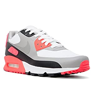 41DhVBqt1DL. SS300  - Nike Mens Air Max 90 Infrared Patch SP White Infrared Trainer