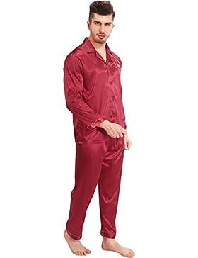 Vislivin Il suo drago cinese e il suo drago cinese e la gru cinese stampano il pigiama di raso