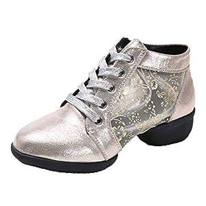 Damen Lateinische Tanzschuhe, LeeMon Frau Mode Tanzen Rumba Waltz Prom Ballroom Latin Salsa Tanzschuhe