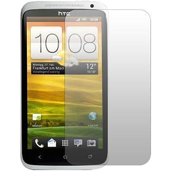 """4 x Slabo Displayschutzfolie HTC One X X+ Schutzfolie Folie """"No Reflexion Keine Reflektion"""" MATT - Entspiegelnd MADE IN GERMANY"""