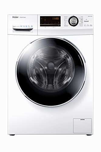 Haier HW90-B14636 Waschmaschine Frontlader / 9 kg/A+++ / 121 kWh / 1.400 UpM/Steam (Dampffunktion) / AquaProtect