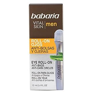 Babaria Contorno Ojos en Roll-on Anti-Bolsas y Ojeras Vital Skin para Hombre – 12 gr