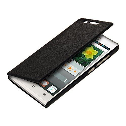 kwmobile Huawei Ascend P7 Mini Hülle - Handyhülle für Huawei Ascend P7 Mini - Handy Case Schutzhülle Klapphülle