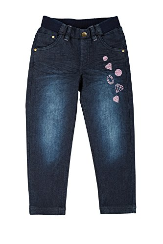 Sigikid Mädchen Jeans, Mini, Blau (Black Denim 11), 128