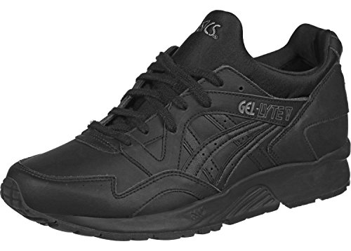 Asics V Trainers Leather negro Lyte Mens Gel 7pwq8vrT7