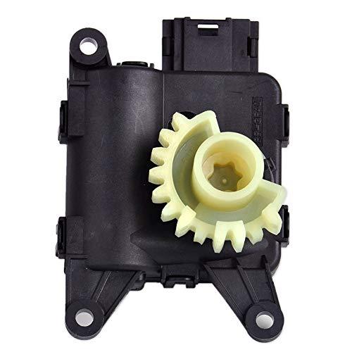 Auto Temperatur einstellbar Ventil Umluftklappe Servomotor Heizung Klappe Motor Geräuscharm für Audi VW Golf Jetta Passat Teile, schwarz