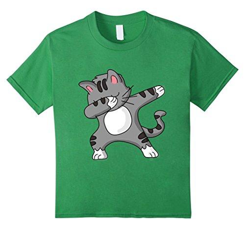 Dabbing Cat Funny Shirt Dab Hip Hop Dabbing Kitty Kinder, Größe 152 (Kitty Shirt)