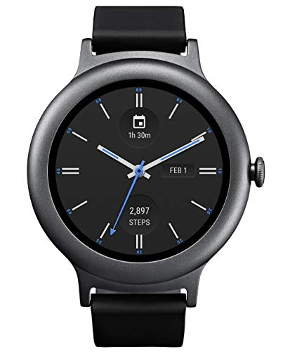 LG Watch Style LG-W270 Smartwatch Android Wear 2.0 (Bluetooth Model/International Version) (Titanium)