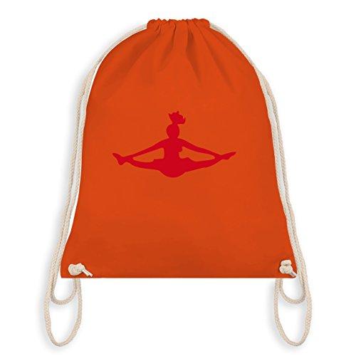 Tanzsport – Cheerleading – Unisize – Orange – WM110 – Angesagter Turnbeutel / Gym Bag
