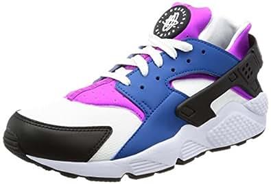 Nike Men's Air Huarache Blue Jay/White/Black 318429-415 (SIZE: 10. 5)